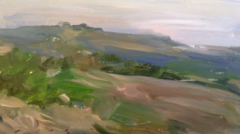 Marc Whitney oil painting Landscape