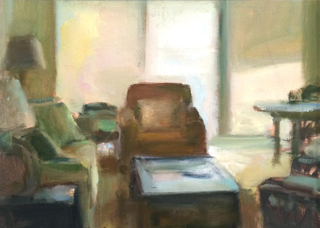 Marc Whitney oil painting Interior Light