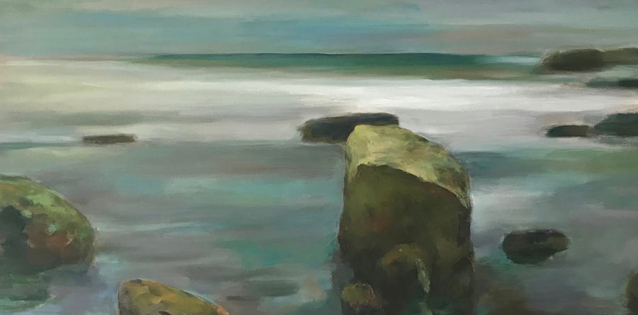 Rock Pile Original Oil Painting by Marc Whitney