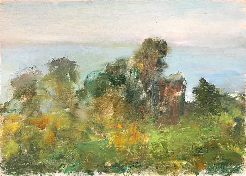 Marc Whitney oil painting Laguna