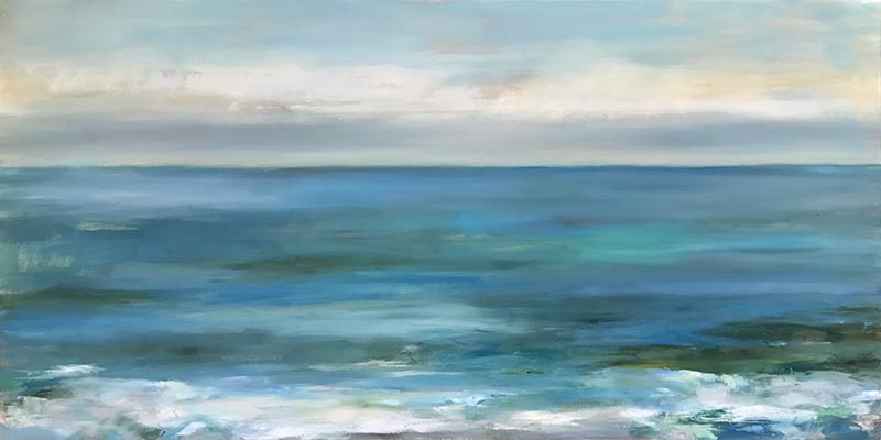 Marc Whitney commissioned oil Ocean Waters