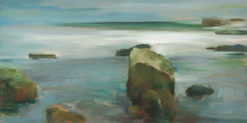 Marc Whitney fine art print Ocean Rocks