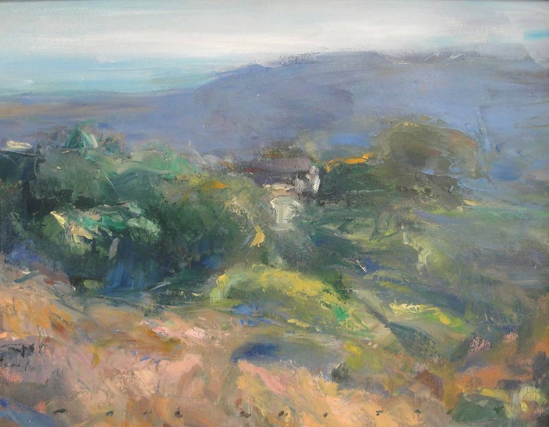 Marc Whitney oil painting S.C. View