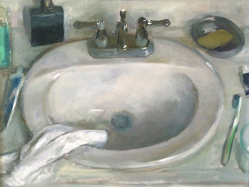 Marc Whitney fine art print Sink