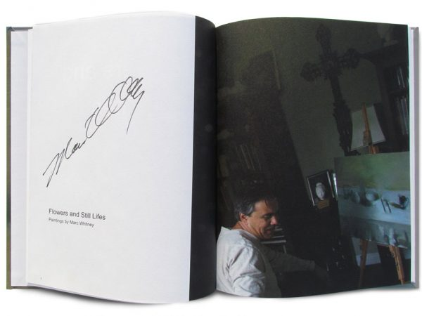 fine art book by Marc Whitney Flowers and Still Lifes