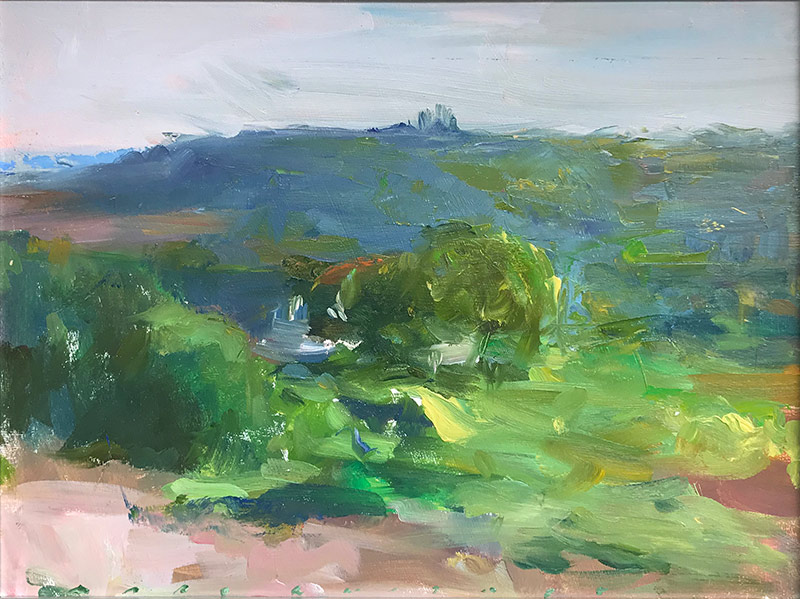 Marc Whitney oil painting View