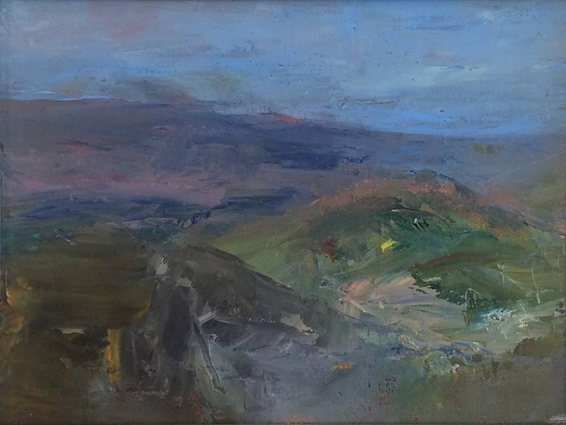 Marc Whitney oil painting View at Dusk
