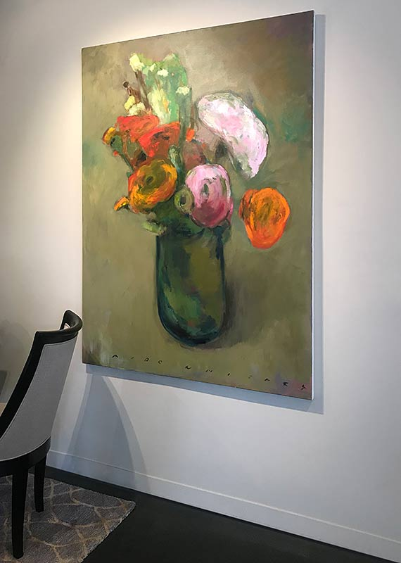 marc whitney floral at art walk in laguna beach